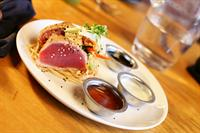 Vesta Dipping Grill's Ginger Chili Seared Tuna