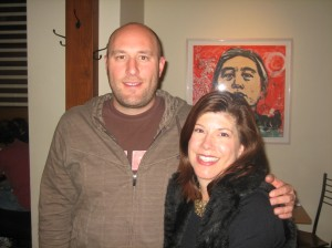 Hosea Rosenberg and Allison Bergamo